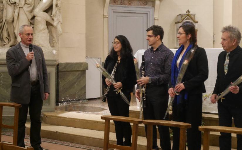 Concert du 4 Décembre : Mozart Sonate d´eglise pour clarinette et orgue
